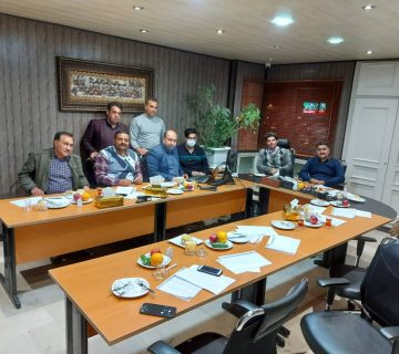 Meeting about Rahtab system